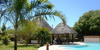 Cottage, gazebo and pool