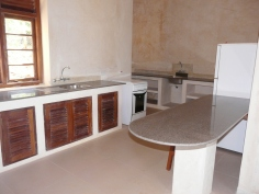 kitchen to back