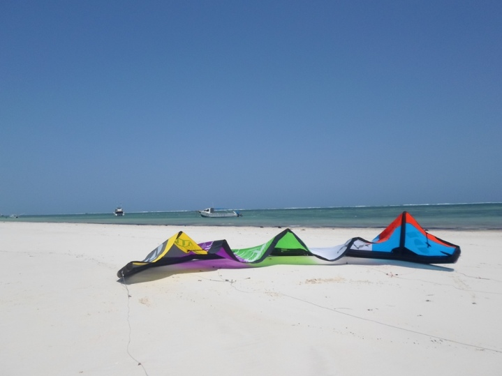 Kite on Diani Beach