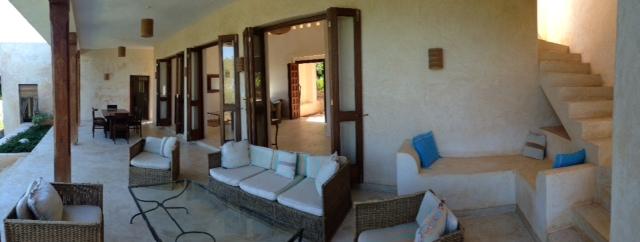 verandah and stairs
