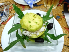 avocado crab starter