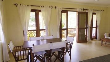 A kitchen to verandah