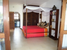 bed from verandah