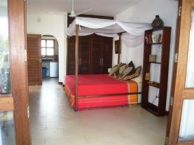bed from verandah