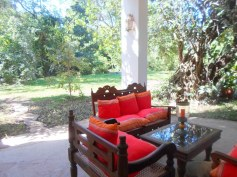 verandah seat to west