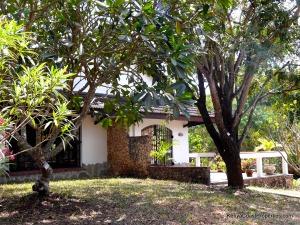 Garden to cottage