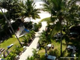 beach garden area