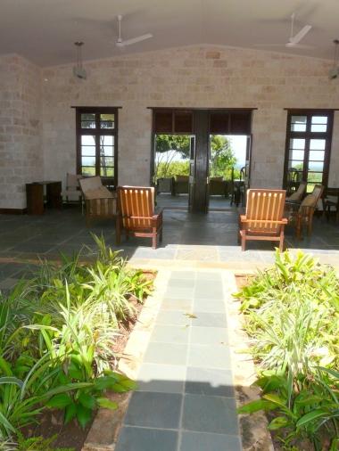 entrance to verandah