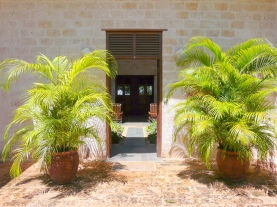 front entrance from outside