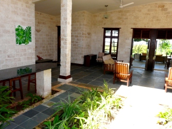 inside from entrance