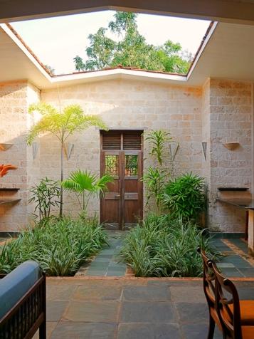 terrace to front door