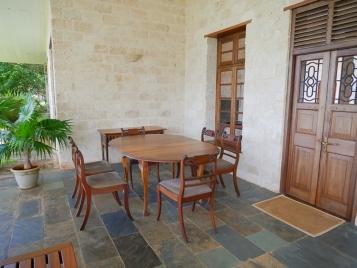 verandah dining corner