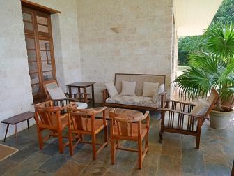 verandah seating corner