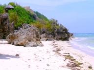 beach towards cave