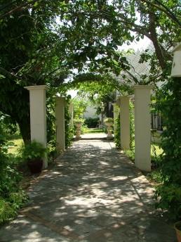 Covered Walkway Main House