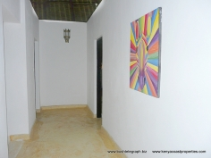 upstairs corridor