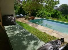 verandah to north pool