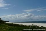 Beach to north