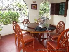 dining on verandah