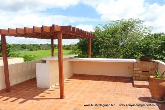 Rooftop terrace bbq