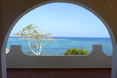 Terrace to sea