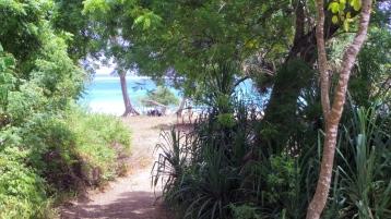close to beach