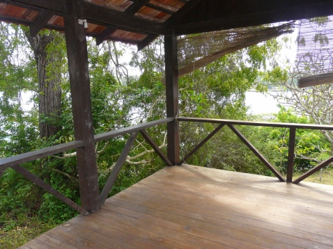 verandah to creek