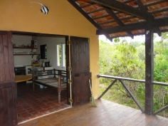 verandah to living room