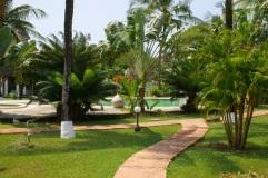 verandah to pool