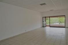 single office to front door