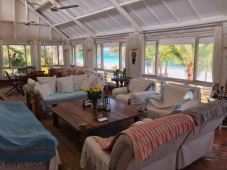 verandah sitting to north and sea