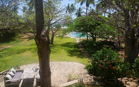 garden pool sea