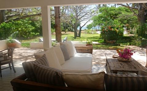 verandah seat to sea