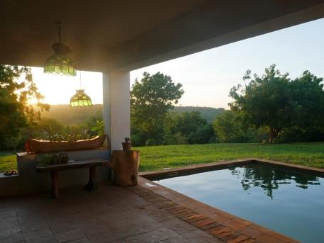 verandah to sundown