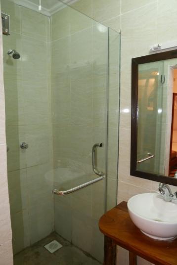bathroom left