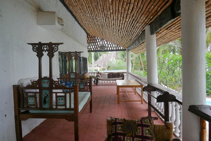 terrace upstairs