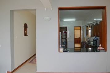kitchen and corridor