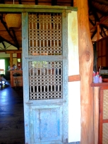 door to verandah