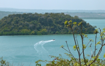 view with water ski