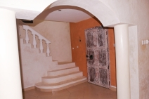 entrance to stairs