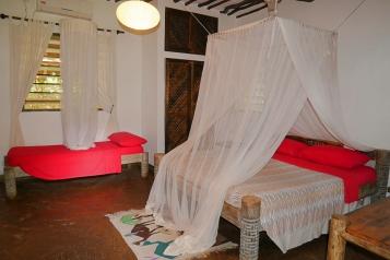 Pool cottage bedroom