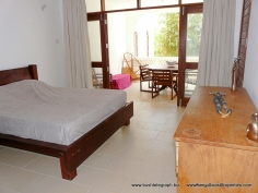 bedroom to verandah